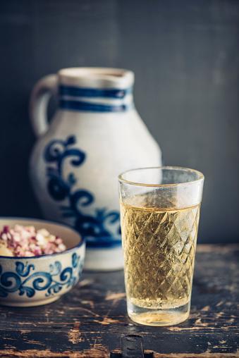 アップルサイダー「Glass of Hessian cider」:スマホ壁紙(4)