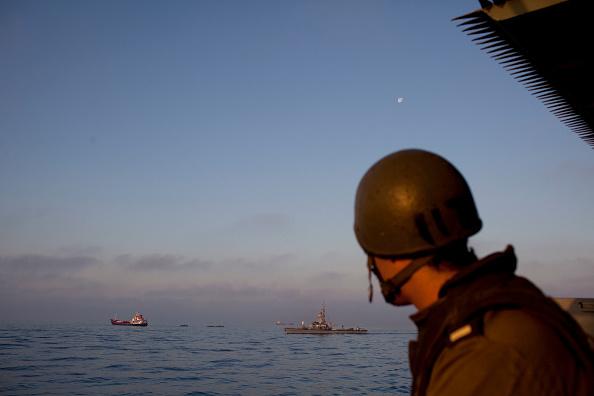 Gaza Strip「Israeli Navy Intercepts Peace Boats Headed For Gaza.」:写真・画像(16)[壁紙.com]
