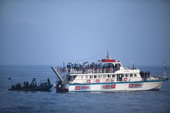 Gaza Strip「Israeli Navy Intercepts Peace Boats Headed For Gaza.」:写真・画像(15)[壁紙.com]