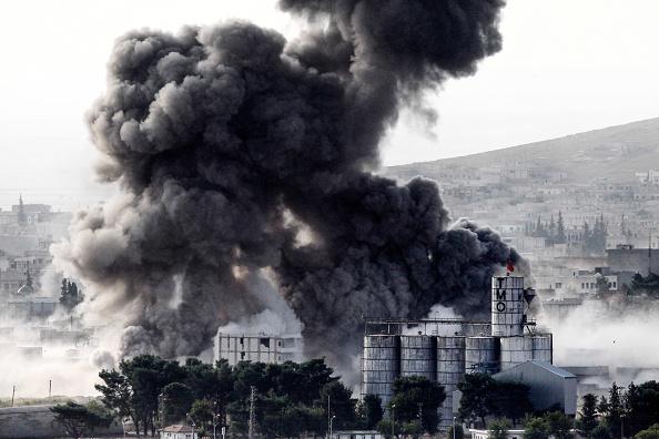 アメリカ合州国「Syrian Kurds Battle IS To Retain Control Of Kobani」:写真・画像(4)[壁紙.com]