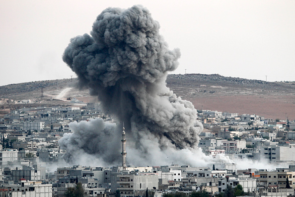 アメリカ合州国「Syrian Kurds Battle IS To Retain Control Of Kobani」:写真・画像(4)[壁紙.com]