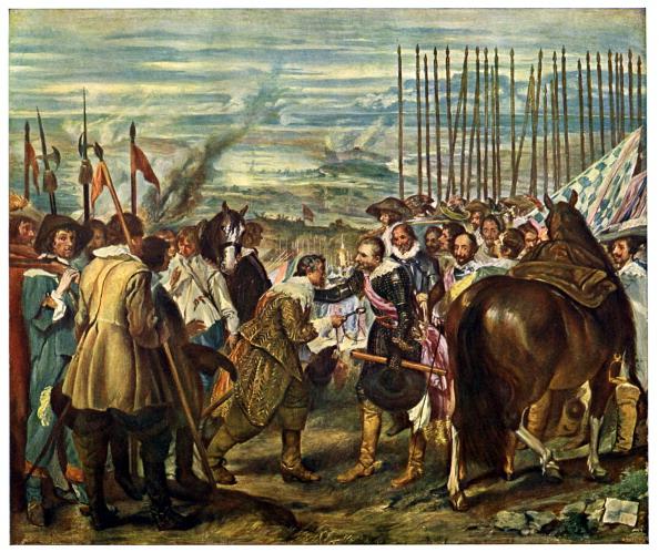 Surrendering「The Surrender of Breda (Las Lanzas) in 1625」:写真・画像(8)[壁紙.com]