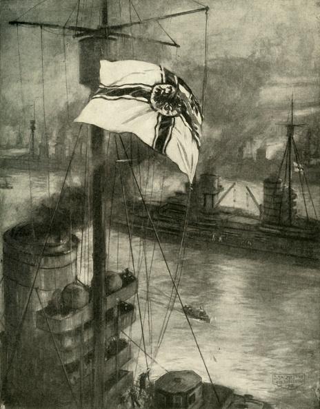 Surrendering「The Surrender Of The German Fleet At Sunset On November 21」:写真・画像(7)[壁紙.com]