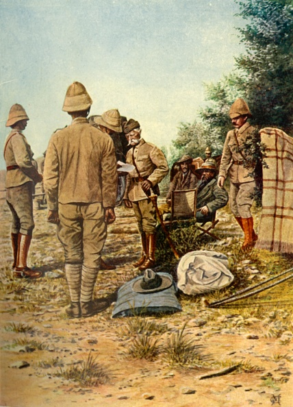 Surrendering「The Surrender Of General Cronje To Lord Roberts At Paardeberg」:写真・画像(15)[壁紙.com]