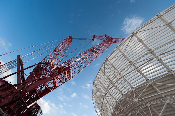 70 Meter「NASA Antenna Dishes Installed And Upgraded In Canberra」:写真・画像(8)[壁紙.com]