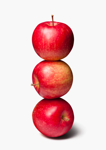 Apple「Stack of Three, Red Apples」:スマホ壁紙(9)