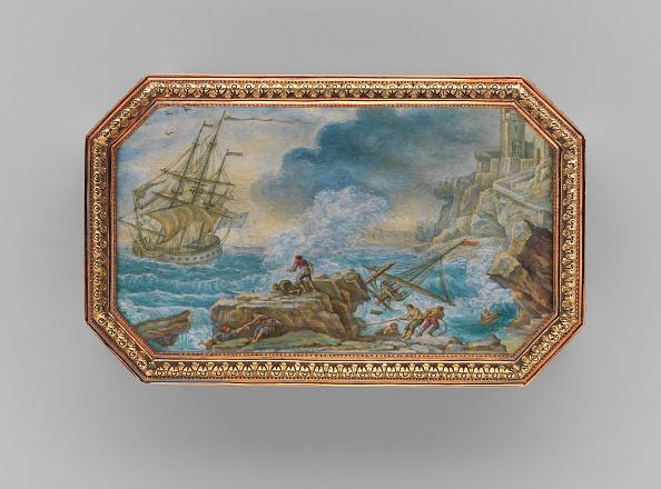 Rock - Object「Snuffbox With Six Maritime Scenes」:写真・画像(9)[壁紙.com]