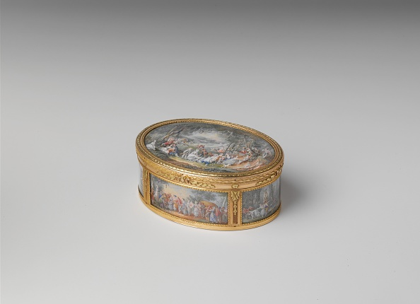 Topics「Snuffbox With Six Scenes Of Country Pastimes」:写真・画像(8)[壁紙.com]