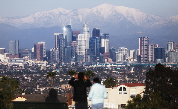 City Of Los Angeles「Heavy Winter Precipitation In California Significantly Reduces Drought」:写真・画像(2)[壁紙.com]
