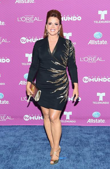 "Metallic Shoe「Telemundo's ""Premios Tu Mundo"" Awards 2015 - Arrivals」:写真・画像(11)[壁紙.com]"