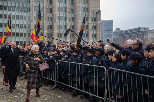 Capital Region「King Albert II Of Belgium And Queen Paola Celebrate King Philippe's Birthday At Cathedral Of Saint-Michael And Saint-Gudele」:写真・画像(1)[壁紙.com]