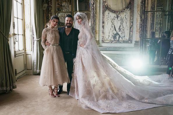 Zuhair Murad - Designer Label「Zuhair Murad : Backstage - Paris Fashion Week - Haute Couture Fall/Winter 2017-2018」:写真・画像(7)[壁紙.com]