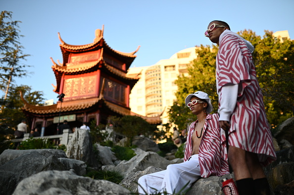 Chinese Garden of Friendship「Double Rainbouu - Runway - Mercedes-Benz Fashion Week Australia 2019」:写真・画像(0)[壁紙.com]
