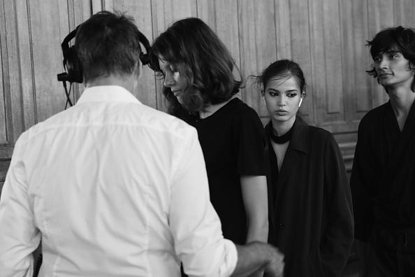 夏コレクション「Paul & Joe : Backstage - Paris Fashion Week Womenswear Spring/Summer 2018」:写真・画像(15)[壁紙.com]