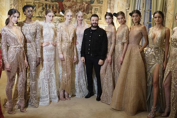 Zuhair Murad - Designer Label「Zuhair Murad : Backstage - Paris Fashion Week - Haute Couture Spring Summer 2018」:写真・画像(6)[壁紙.com]