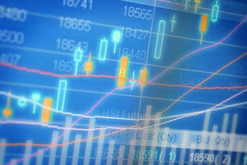 Trading Board「Stock Market Chart on Screen」:スマホ壁紙(9)