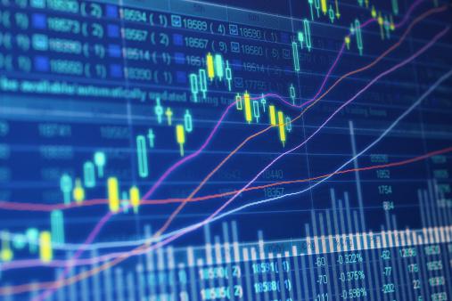 Number「Stock Market Data」:スマホ壁紙(8)