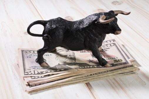 Figurine「Stock market concept」:スマホ壁紙(2)