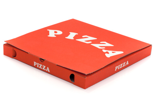 Box - Container「Used pizza box」:スマホ壁紙(1)