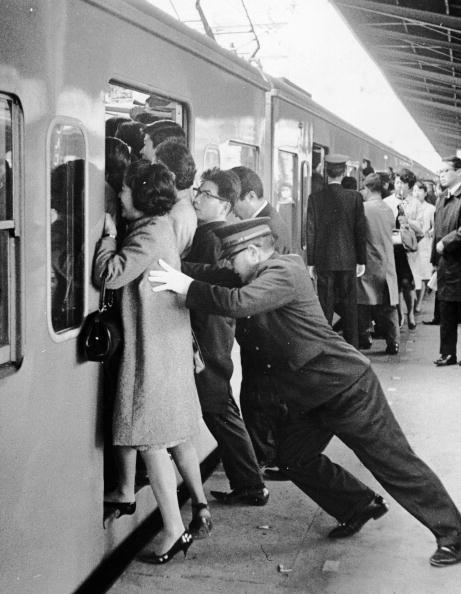 鉄道・列車「Tokyo Rush Hour」:写真・画像(10)[壁紙.com]