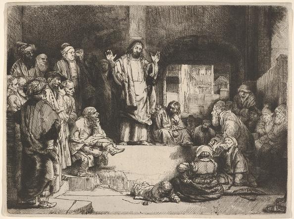 Etching「Christ Preaching」:写真・画像(18)[壁紙.com]