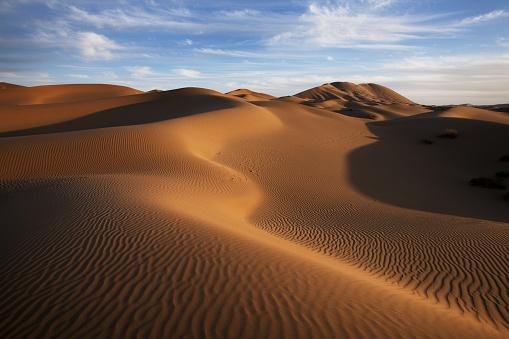 Awbari Sand Sea「The badain jaran desert」:スマホ壁紙(4)