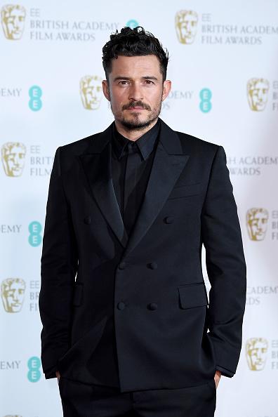 オーランド・ブルーム「EE British Academy Film Awards - Press Room」:写真・画像(0)[壁紙.com]