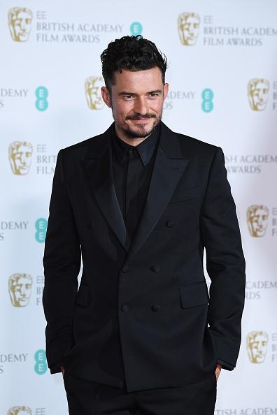 オーランド・ブルーム「EE British Academy Film Awards - Press Room」:写真・画像(3)[壁紙.com]