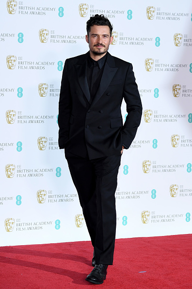 Orlando Bloom「EE British Academy Film Awards - Press Room」:写真・画像(16)[壁紙.com]