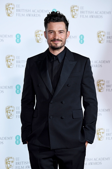 Orlando Bloom「EE British Academy Film Awards - Press Room」:写真・画像(6)[壁紙.com]