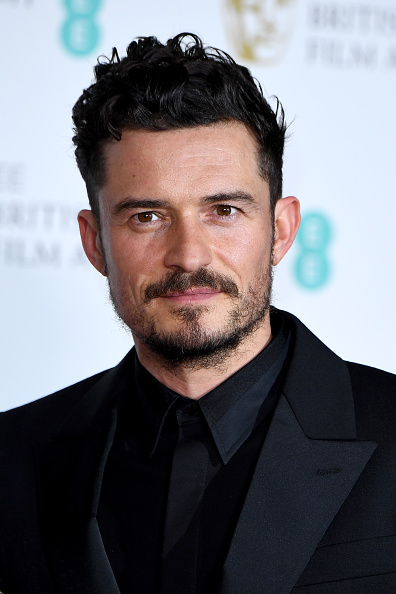 オーランド・ブルーム「EE British Academy Film Awards - Press Room」:写真・画像(1)[壁紙.com]