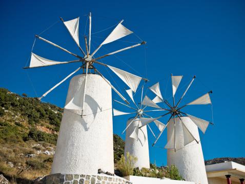 Mill「Classical Greek Windmills」:スマホ壁紙(12)