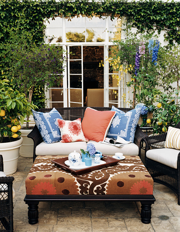 Pillow「Patio with Potted Lemon Trees」:スマホ壁紙(8)