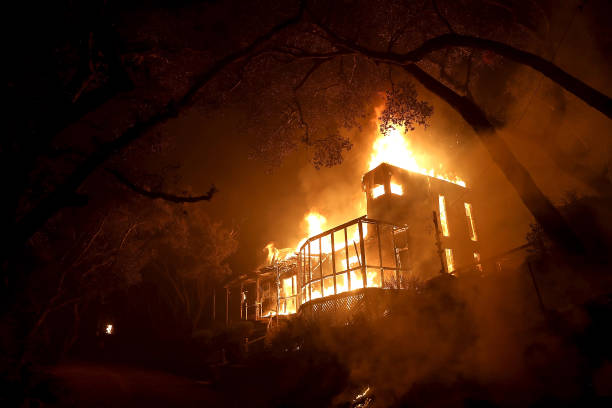カリフォルニア州「Southern California Wildfires Forces Thousands to Evacuate」:写真・画像(10)[壁紙.com]