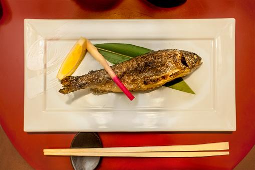 Japan「Grilled rainbow trout」:スマホ壁紙(15)