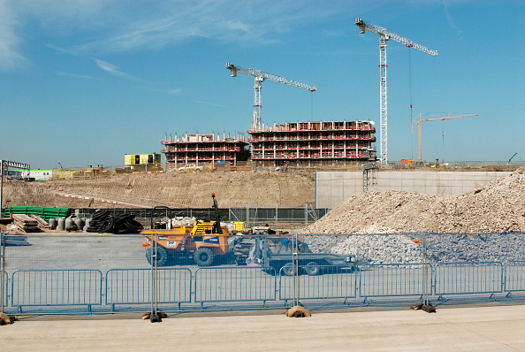 2012 Summer Olympics - London「Olympic village under construction, Stratford, East London, UK」:写真・画像(5)[壁紙.com]