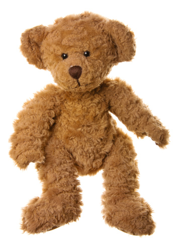 Brown Bear「Cute Teddy Bear Standing」:スマホ壁紙(5)