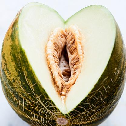 メロン「cut fresh melon」:スマホ壁紙(10)