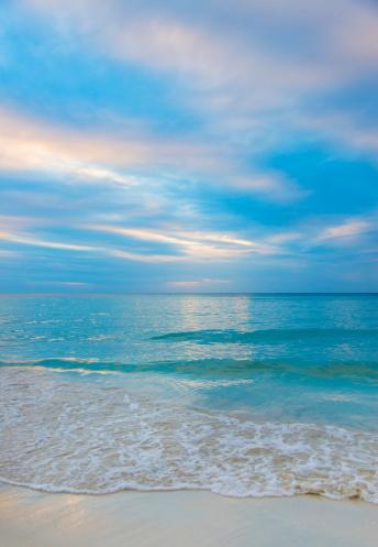 ビーチ「Jamaica, Seascape at sunset」:スマホ壁紙(9)