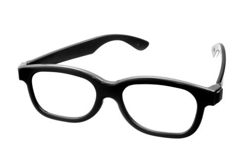 Intelligence「cinema glasses isolated on white」:スマホ壁紙(17)