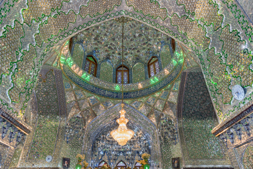 Iranian Culture「Shah Cheragh funerary monument and mosque」:スマホ壁紙(15)