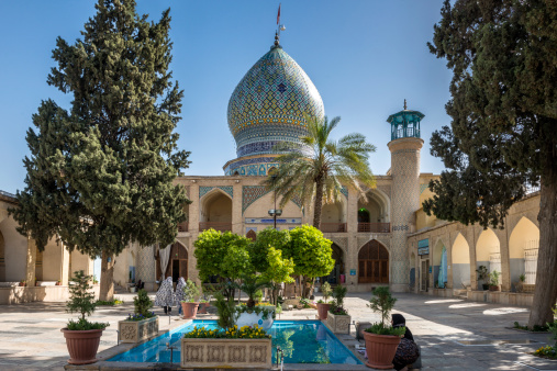 Iranian Culture「Shah Cheragh funerary monument and mosque」:スマホ壁紙(14)