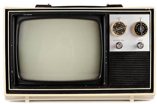 Isolated Retro TV:スマホ壁紙(壁紙.com)