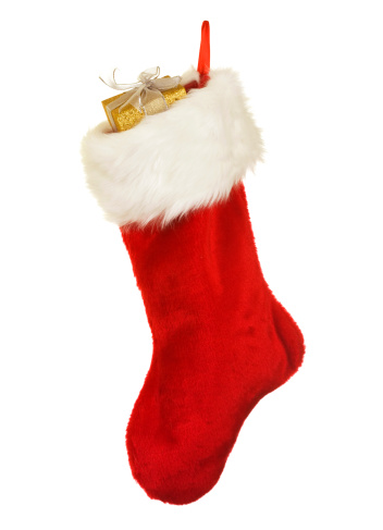 Sock「Isolated Red Christmas Stocking A Holiday Ornament」:スマホ壁紙(16)