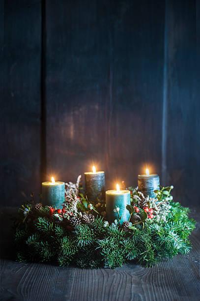 Advent wreath:スマホ壁紙(壁紙.com)