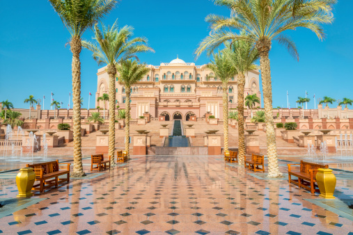 Middle Eastern Culture「Emirates Palace Abu Dhabi UAE」:スマホ壁紙(6)
