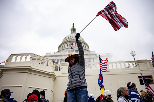 """Capitol Hill「Trump Supporters Hold """"Stop The Steal"""" Rally In DC Amid Ratification Of Presidential Election」:写真・画像(8)[壁紙.com]"""