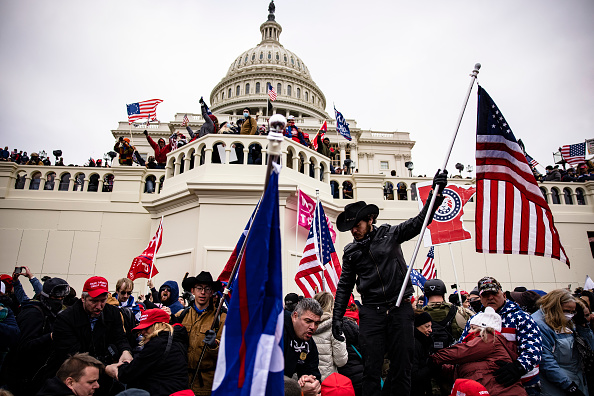 """Bestpix「Trump Supporters Hold """"Stop The Steal"""" Rally In DC Amid Ratification Of Presidential Election」:写真・画像(6)[壁紙.com]"""