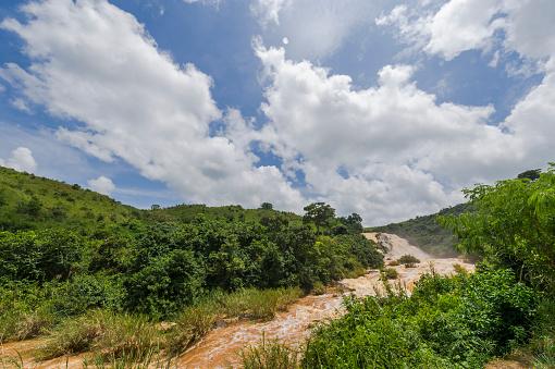 コンゴ民主共和国「Landscape with Aruwimi River in Bundana Power Station, Democratic Republic of the Congo」:スマホ壁紙(11)