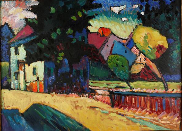 自然の景観「Landscape With A Green House 1909」:写真・画像(16)[壁紙.com]